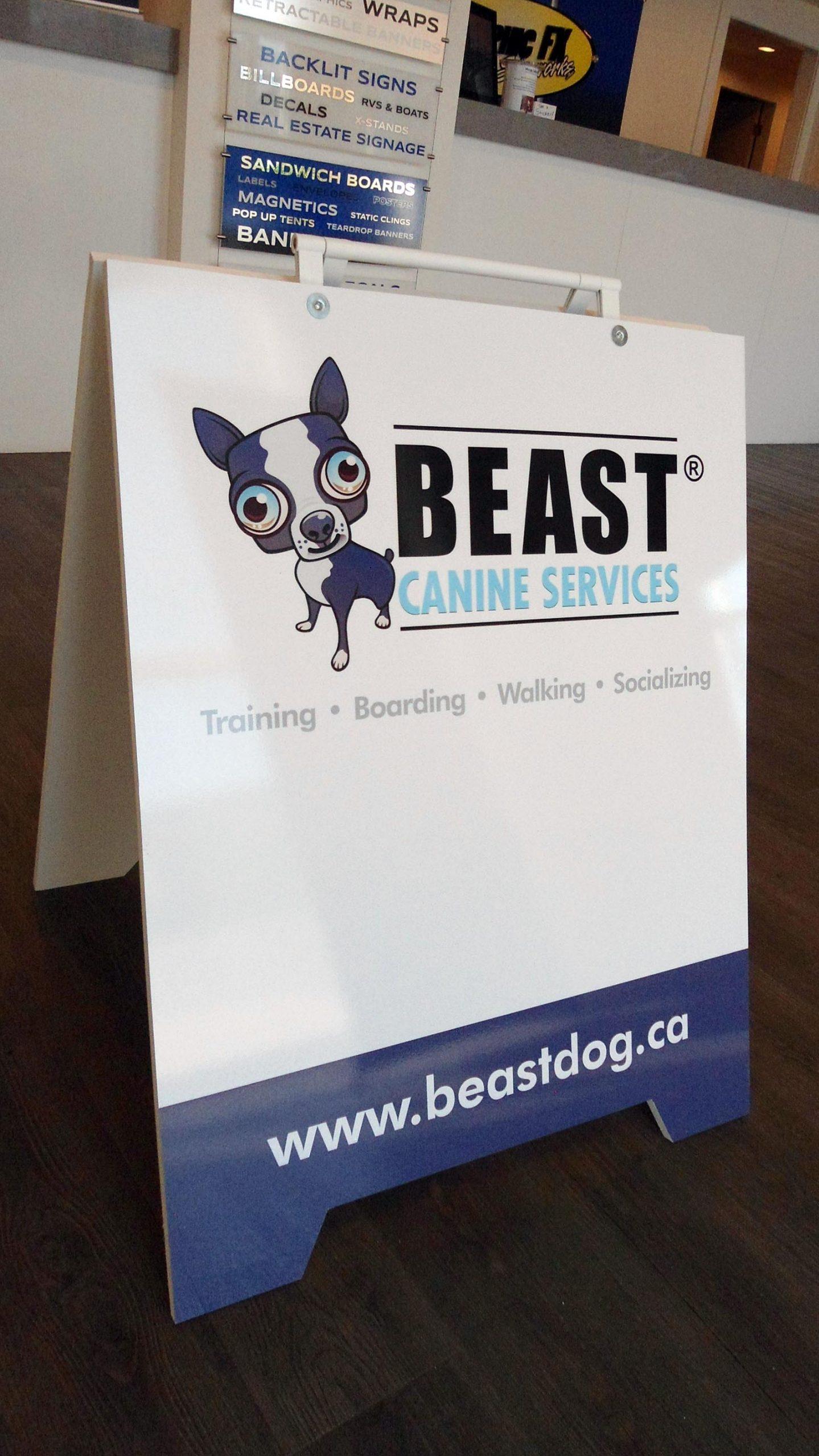 BeastCanine-sandwich_board